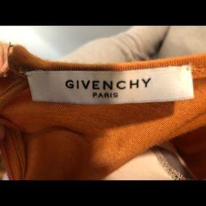 Givenchy Tops - Givenchy Paris Dark Apricot Draped Top